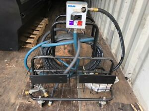 Ecolab Sanitizer Chemical Sanitizing Hose With Rolling Cart Commercial Clean