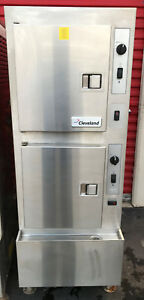 Cleveland Manitowoc Steamer Model 24cea10 electric Steamer Great Shape