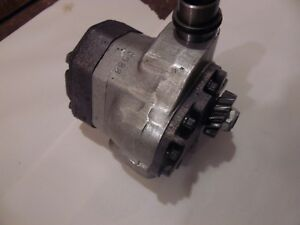 International 656 Diesel Farm Tractor Hydraulic Pump works Good