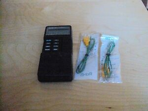 Fluke 52 K j Two Channel Digital Thermometer Calibrated