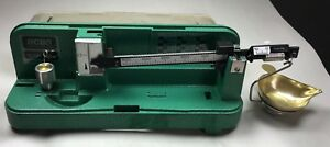 OMARK INDUSTRIES RCBS MODEL 10 - 10 RELOADING SCALE - POWDER- HUNTING- USA NICE!