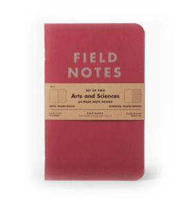 Field Notes Summer 2014 Quarterly Edition Arts Sciences Two 64 page Memo Books