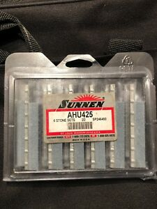 Sunnen Ahu 425 Honing Stones 1 Package Of 6 Sets Sp246450 New