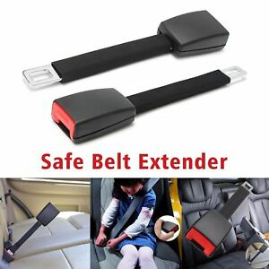 Universal Car Seat Belt Extension Auto Seatbelt Buckle Padding Abs Extender Kit