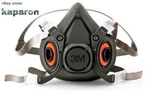 3m Respirator Half Face Mask Welding Industrial Reusable Large pack Of 1 Usa