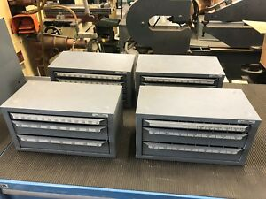 Four Huot Index Cabinets With Drills Taps 1 60 1 16 1 2 A z 1 4 1 Taps