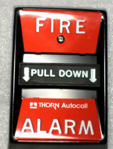New In Box Thorn Autocall Fire Alarm Pull Station 4050 211 101