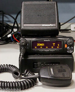 Ef Johnson 5300es Uhf 380 470 Mhz Mobile Radio With Lightning Control Head
