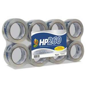 Duck Hp260 Packaging Tape 1 88 X 60yds 3 Core Clear 8 pack 075353074244