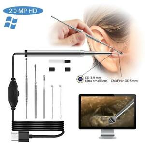 New Usb Ear Endoscope Digital Otoscope With 6 Led Ear Inspection Camera 4 3 Sh