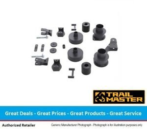 Trail Master Jeep Jk Wrangler 3 Inch Lift Kit With Shock Extension Brackets
