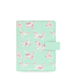 Filofax Pocket Size Butterfly Organiser Planner Notebook Diary Book 022522