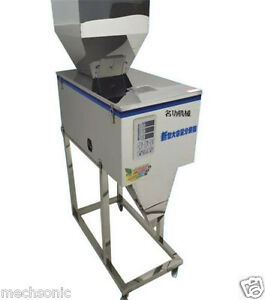 Semi auto1200g Weighing filling Powder Machine chemical Powder Filler For Food S