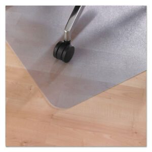 Floortex Ecotex Revolutionmat Recycled Chair Mat For Hard Floors 48 X 36 With