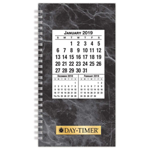 Day timer 2019 Daily Planner Refill 3 1 2 X 6 1 2 Pocket Size 2 Two Pages P