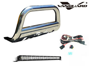 Vanguard 11 20 Ford Explorer Front Bull Bar With Led Lights Bar S S