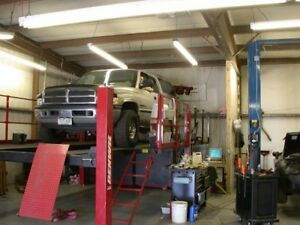 Dynojet 248 Overhead 4 Post Lift Dyno Not Included Just Lift