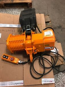 great Condition Accolift Clh 1 2 Ton Electric Chain Hoist M n 2230010