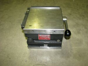 Robbins xlo Magna sine A 5 Compound Sine Plate For Grinding