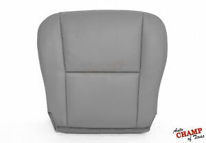 For 2005 2006 Toyota Tundra Sr5 Xsp Driver Side Bottom Leather Seat Cover Gray