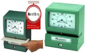 Acroprint 150rr4 Heavy Duty Automatic Time Recorder Prints Month Date