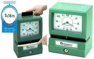 Acroprint 125er3 Heavy Duty Manual Time Recorder For Day Of The Week And