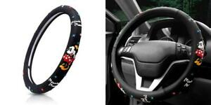 Finex Silicone Minnie Mouse Auto Car Steering Wheel Cover Black