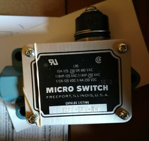 Honeywell Micro Switch Bzf1 2rn rh Enclosed Switch