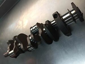 Gm Crankshaft 454 Big Block Bbc With Bearings Chevrolet Cast Steel Excellent