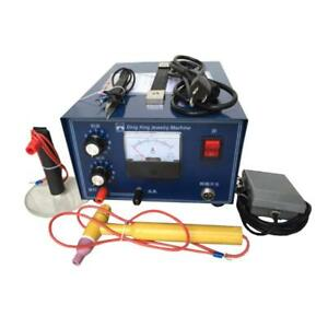 Jewelry Laser Welding Machine Spot Welder Gold Silver With Handle Tool 110v