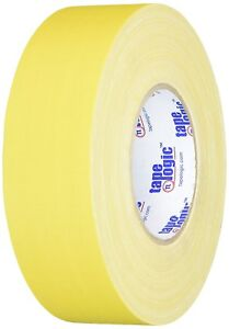 Tape Logic 2 X 60 Yds Yellow 3 Pack 11 Mil Gaffers Tape