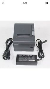 Epson Tm t88v Thermal Receipt Printer usb serial ps180 Power Supply