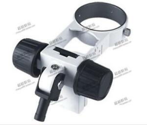 New Mount Holder Focusing Arm For Nikon Olympus Wild Leica Stereo Microscope