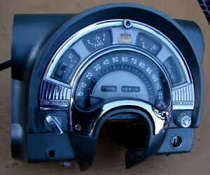 53 Chrysler Imperial Dash Cluster 120 Mph Speedometer Gauges Hot Street Rat Rod