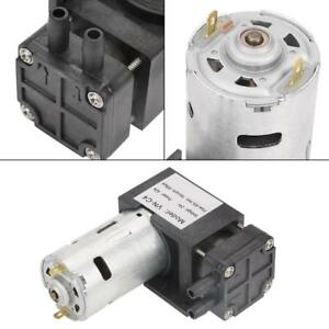 40l min Dc12v 42w Mini Vacuum Pump High Efficiency Oilless Vacuum Pump 85kpa Im
