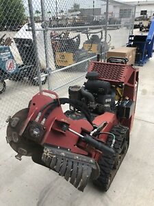 Toro Stump Grinder With Trailer