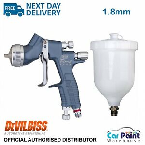 Devilbiss Pri Pro Lite Pr10 1 8mm Gravity Spray Gun Primer Topcoat 2k