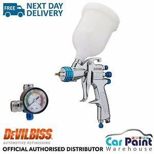 Devilbiss Slg 620 Compliant Spray Gun 1 8mm Paint Primer Gun Gauge