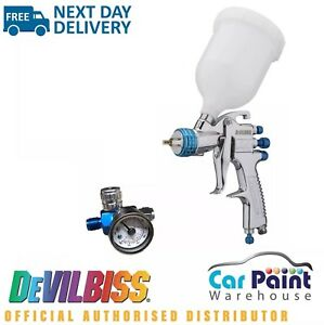 Devilbiss Slg 620 Compliant Spray Gun 1 3mm Paint Primer Gun Gauge