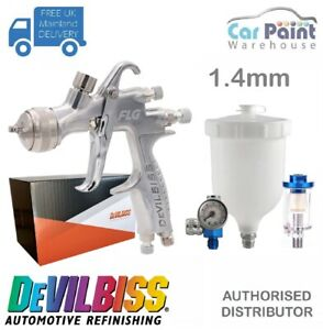 Devilbiss Flg 5 Finish Line Spray Gun 1 4mm Paint Primer Gun Gauge Filter