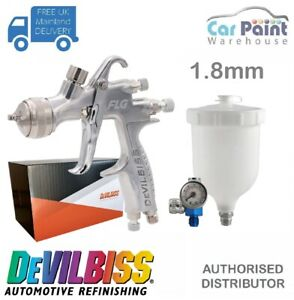 Devilbiss Flg 5 Finish Line Spray Gun 1 8mm Paint Primer Gun Gauge