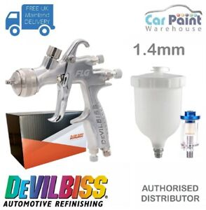 Devilbiss Flg 5 Finish Line Spray Gun 1 4mm Paint Primer Gun Filter