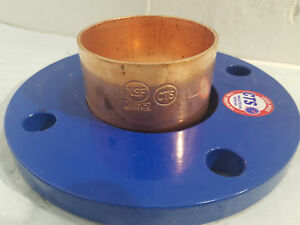 Cts Copper Flange Adapter 150lb 4 Bf004 New