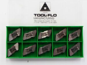 10 Pieces Tool flo Flg ng 4250l C3 Coated Carbide Inserts A451