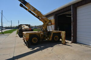 Grove 308ap 1987 Mobile Crane 8 Gross Ton Lifting 95hp Cummins Propane Used