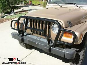 Rampage 7659 Euro Grille Guard For 1987 1995 Jeep Wrangler Yj