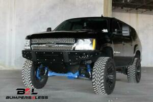 Add F1503492360103 Stealth Front Bumper For 2007 2014 Chevrolet Tahoe Avalanche