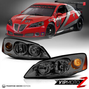 05 10 Pontiac G6 Gt Gtp Gxp Smoke Lens Replacement Headlight Assembly Left Right