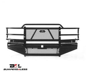 Ranch Hand Fbc011blr Legend Black Powdercoat F Bumper For 2001 02 Chevy 2500 Hd