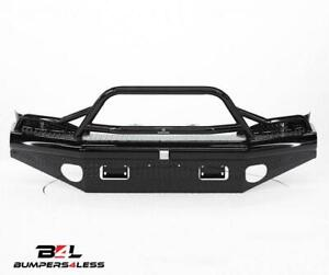 Ranch Hand Btd061blr Legend Series Black Pc Front Bumper For 2006 2009 Ram 1500
